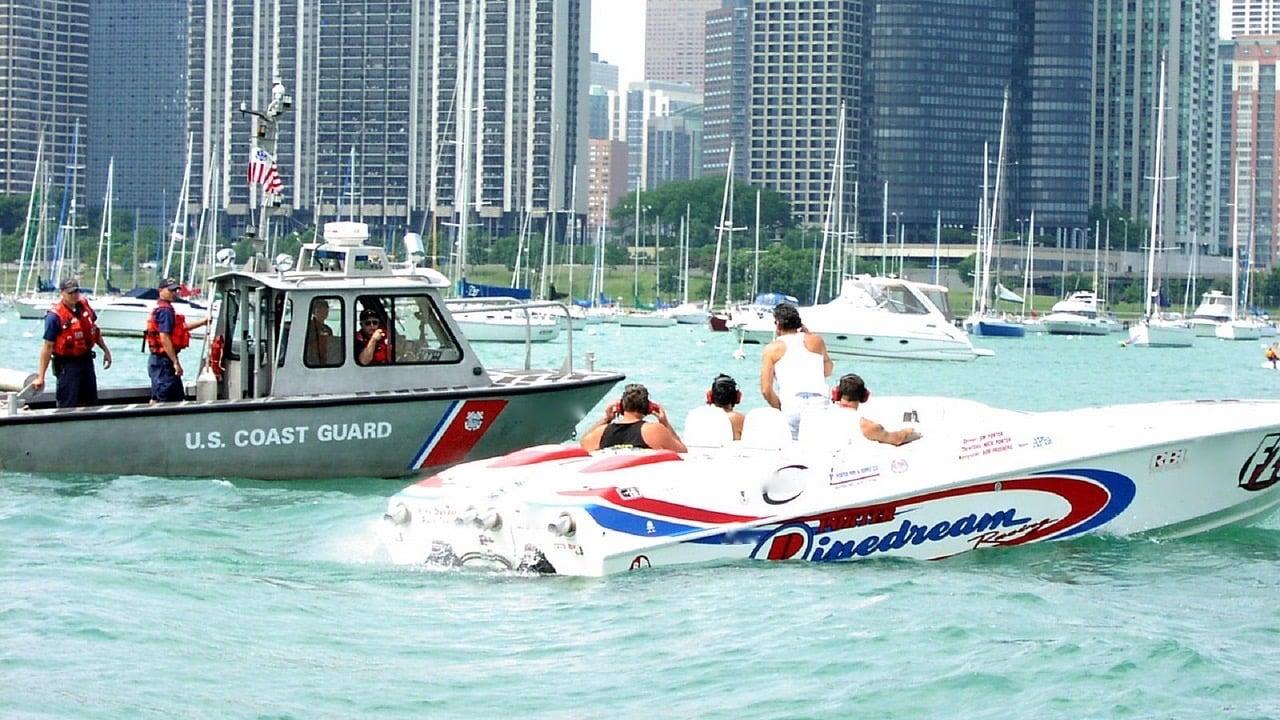 OUI in a boat